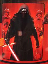 Star Wars Kylo Ren Red Wars Light Saber Storm Troopers Fleece Throw Blanket NEW