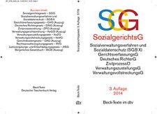 SGG / SGB X Sozialgerichtsgesetz Sozialverwaltungsverfahren und Sozialdatensch..