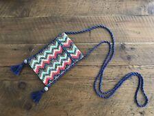 NWOT Ceramic Beaded Crossbody Phone Bag