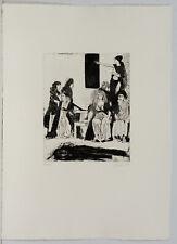 Max Lacher, Radierung, Handsigniert 19/100 Ex.,1974