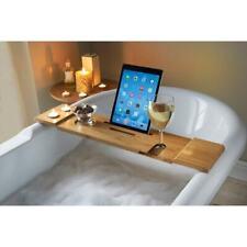 New Luxury Bamboo Bath Relaxation Rack Bath Tub Table
