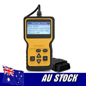 Car Engine Fault Code Diagnostic Scanner Reader OBD OBD2 EOBD For Car SUV Truck