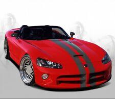 Scheinwerferblenden für Dodge Viper SRT10 Böser Blick Scheinwerfer ABS eyebrows