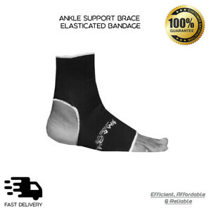 MMA Ankle support Brace Leg Arthritis Injury Gym sleeve Elasticated Bandage