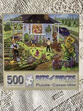 """""""FAMILY GARDEN"""" 500 PIECE PUZZLE - BITS & PIECES"""
