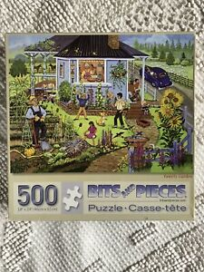 """FAMILY GARDEN"" 500 PIECE PUZZLE - BITS & PIECES"