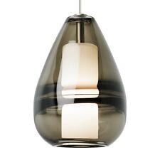 Tech Lighting FJ Mini Ella Pendant, Smoke/Bronze - 700FJELAKZ