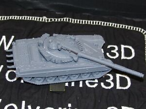 Flames Of War Soviet T-72A No Fuel Cells Tank 1/100 15mm FREE SHIPPING