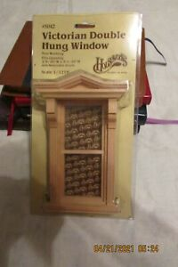 Houseworks Victorian Double Hung Window for Miniatures #5042 - NIP