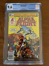 ALPHA FLIGHT 1 CGC 9.6 NM+ NEWSSTAND WHITE PAGES 1ST APPEARANCE PUCK & MARRINA