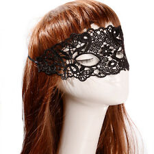 Sexy Lady Lace Flower Mask Masquerade Ball Halloween Party Fancy Dress Costume