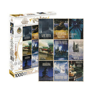 Harry Potter Travel Posters 1000 piece jigsaw puzzle 710mm x 510mm (nm 65383)