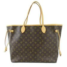 LOUIS VUITTON Neverfull GM Tote Shoulder Bag M40157 Monogram Canvas Brown Used