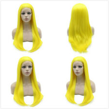 Straight Long Single Color Synthetic Lace Front Wig (Multi Color Available)