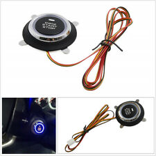 LED Engine Push Start Stop Button Ignition Starter Switch For Car Keyless System