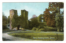 Berry Pomeroy Castle - Totnes Photo Postcard c1910
