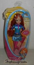 "JAKKS PACIFIC NICKELODEON WINX CLUB BLOOM CONCERT COLLECTION BAND FAIRY 11"" DOLL"