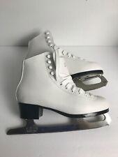 Chimo Tara women's Sher Wood Hockey Seniors-W'S Size 7 Ice Skates White New