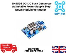 LM2596S DC-DC Buck Converter Adjustable Power Supply Step Down Module Voltmeter