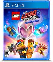 PLAYSTATION 4 PS4 VIDEO GAME THE LEGO MOVIE 2 BRAND NEW AND SEALED