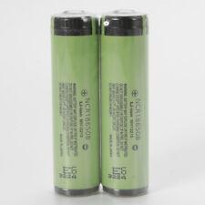 2X NCR18650B 3400mah 3.7V Li-ion Rechargeable Battery Protected for PANASONIC