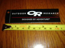 OUTDOOR RESEARCH Sticker Decal OR Black Rectangle
