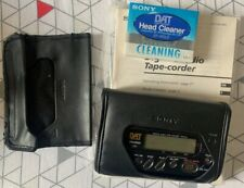 More details for boxed and complete sony walkman tcd-d8 dat (digital audio tape-corder) recorder