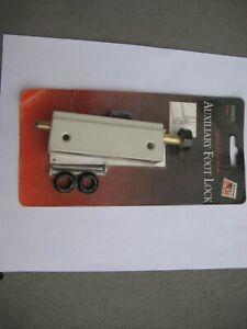 Andersen Gliding Patio Door Auxiliary Foot Lock 2500633 - White - NEW