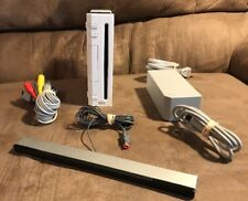 Official Nintendo Wii Console & Wires! ~ GameCube Compatible! ~ Works Great!