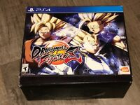 Dragon Ball Z Fighterz Collectors Edition PlayStation 4 PS4 Complete Excellent