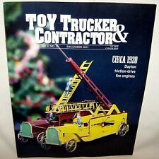 December 2013 Toy Trucker & Contractor Model Magazine New