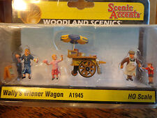 Woodland Scenics Ho #1945 - Wally's Wiener Wagon