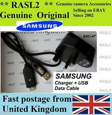Original Samsung Sac-47 Cargador Cb20u05a Es50 Es55 Es60 Es63 Es65 Es70 Es71 Es75