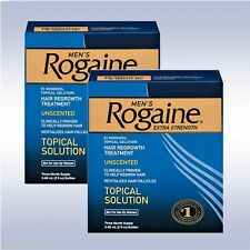 ROGAINE MEN'S TOPICAL SOLUTION (6 MONTHS) 5% minoxidil extra strength liquid