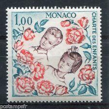 MONACO 1963, timbre 606, CHARTE DES ENFANTS, EMBLEME NATIONS UNIES ONU, neuf**