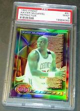 1993 93 XAVIER MCDANIEL FINEST REFRACTOR #61 PSA MINT 9 LOW POP 1/7