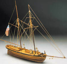"Beautiful, brand new wooden model ship kit by Mantua Sergal: the ""Achilles"""
