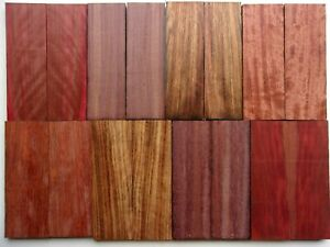 "Turning Squares//woodturning//exotic Woods 2x2x12"" Katalox Mex Royal Ebony"