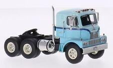 Mack H673-St Tractor Truck 1960 2 Tone Light Blue Neoscale 1:64 NEO64000 Model