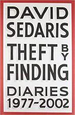 1st Edition Autographed Hardbk Theft by Finding: Diaries 1977-2002 David Sedaris