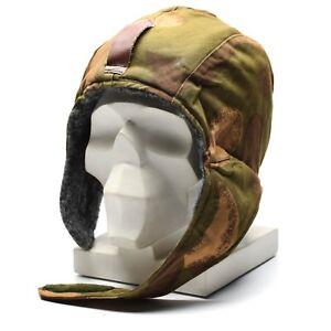 Original Hungarian army winter hat paratrooper military ushanka cap parachute