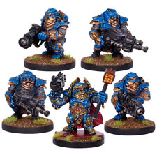Warpath 5 Rare OOP Stormrage veterans Mantic unboxed forge father squat 40k