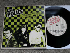 "7"" THE POLICE Fall Out 45 Illegal Records  IL001 UK 1977  2nd Press (Green)"