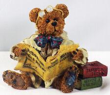 Boyds Bearstone Figurine, Dean Newbearger Iii – Bears & Bulls, #227715Gcc, New