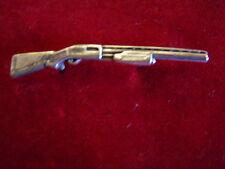 Motorcycle Pin, Sterling  Skatter Gun with Screw Clutchs.