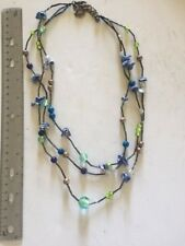 Chicos Multi-strand Beaded Necklace