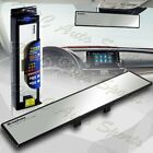 Universal Broadway 360mm Wide Flat Interior Clip On Rear View Clear Mirror
