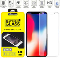 For iPhone Phone Tempered Glass Screen Protector Ultra Slim Clear New Film Cover