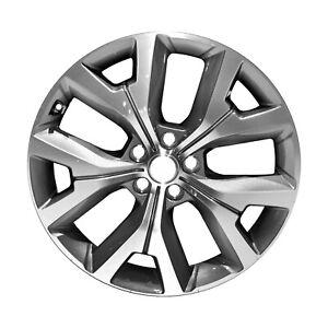 96498 Used OEM Aluminum Wheel 20x7.5 Fits 2020-2021 Hyundai Palisade