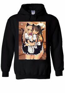 Japanese Hentai Anime Tumblr Sexy Hoodie Sweatshirt Jumper Men Women Unisex 1250